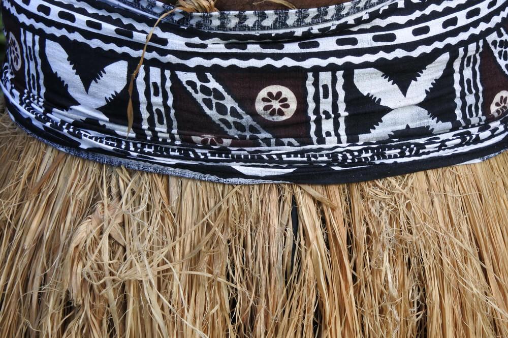 Falda tradicional de Samoa