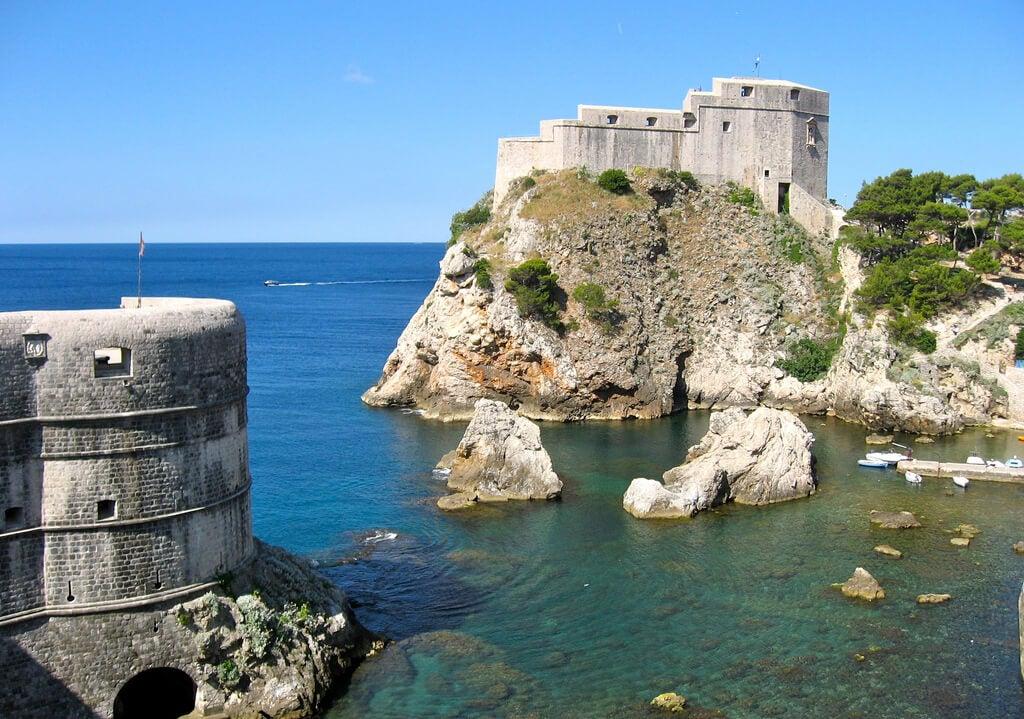 Fortaleza de Lovrijenac en Dubrovnik