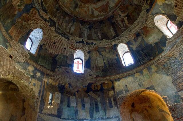 Frescos de la cúpula de Sveti Georgi