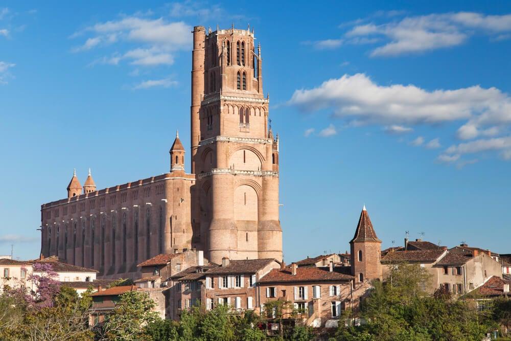 La catedral de Albi en Francia, un templo muy especial