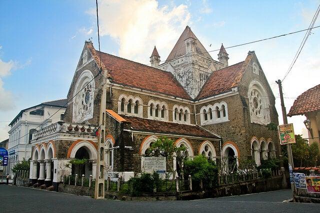 Calle de Galle en Sri Lanka