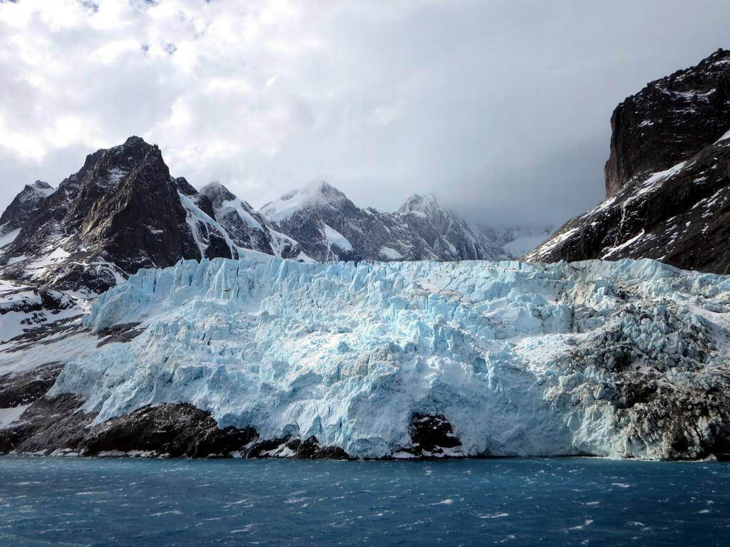 Glaciar en Georgia del Sur