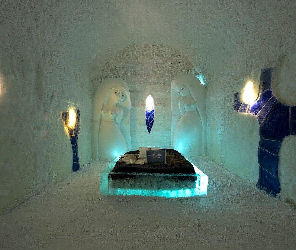 Los 11 lugares más extraños donde dormir