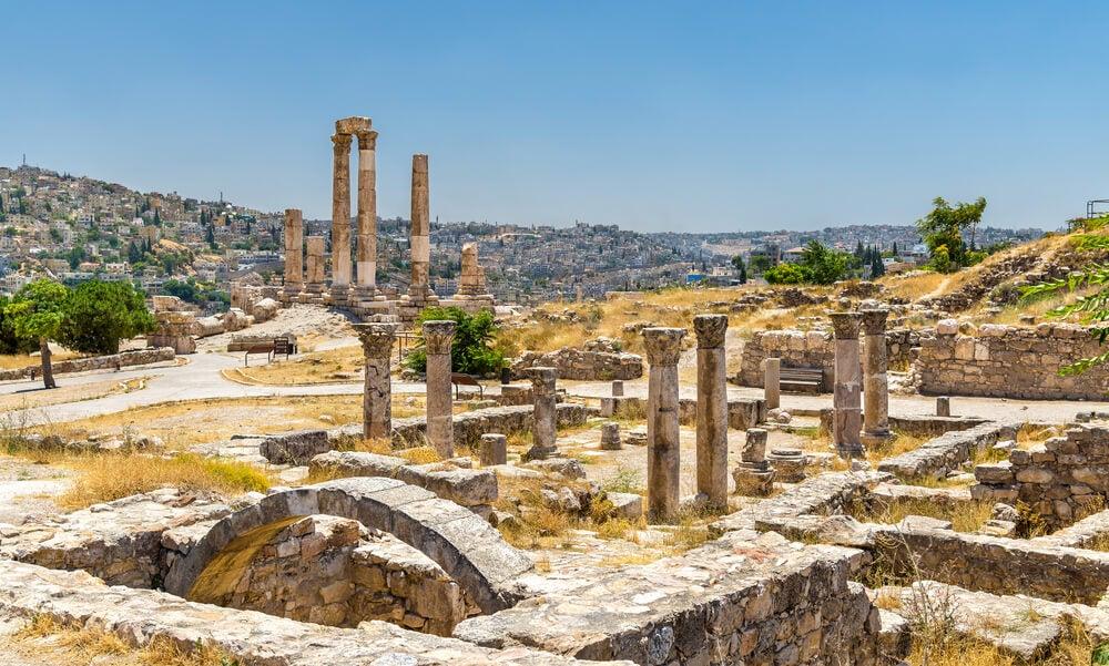 Iglesia bizantina en la Ciudadela de Amán