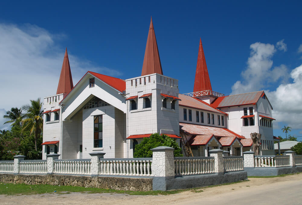 Iglesia en Nukualofa
