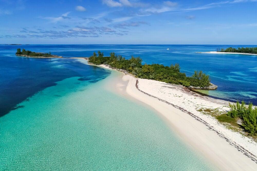 Isla Ábaco en las Bahamas