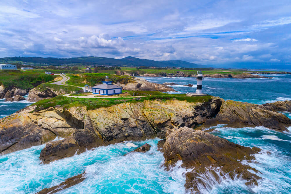FAro de isla Pancha en Ribadeo