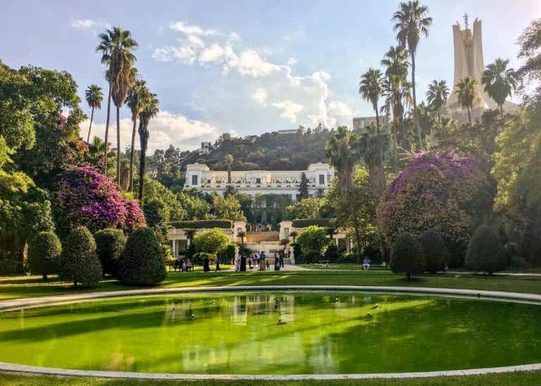 El Jardin d'Essai de Hamma, un oasis en Argel