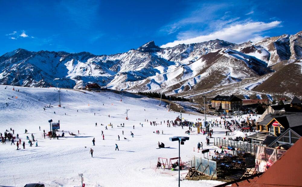 Las Leñas, un lugar en Argentina para los amantes de la nieve