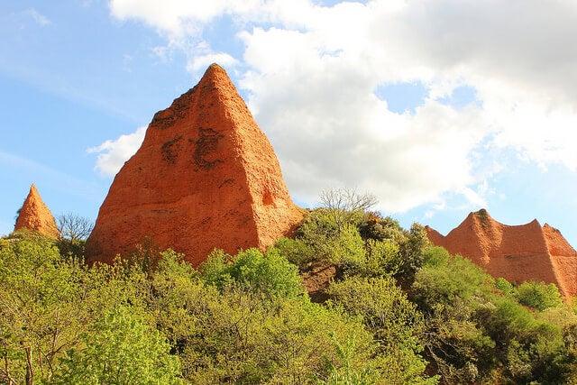 Paisaje del Monumento Natural de Las Médulas