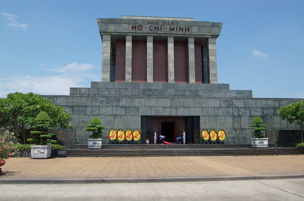 Mausoleo de Ho-Chi-Minh en Hanoi