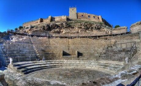 Teatro romano y castillo de Medellín