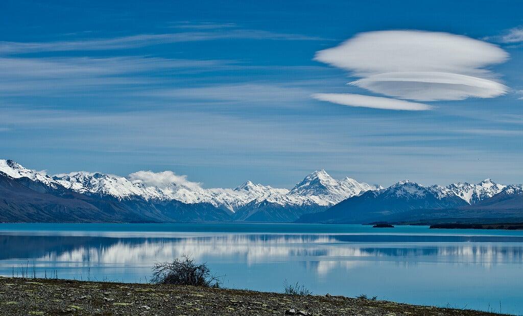 Vista de Lago Tekapo