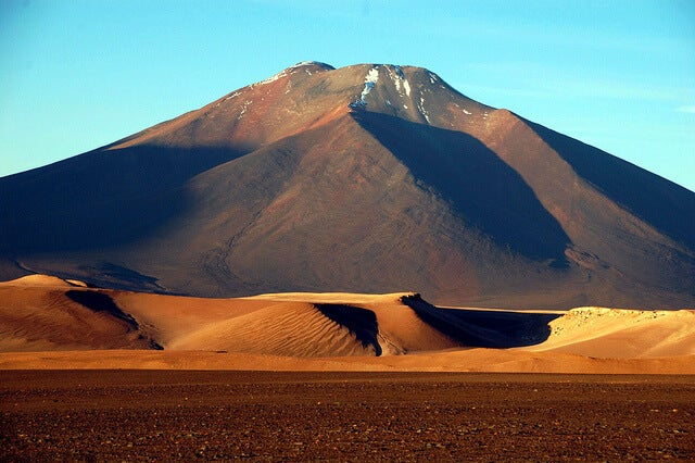 Nevado Tres Cruces en Chile