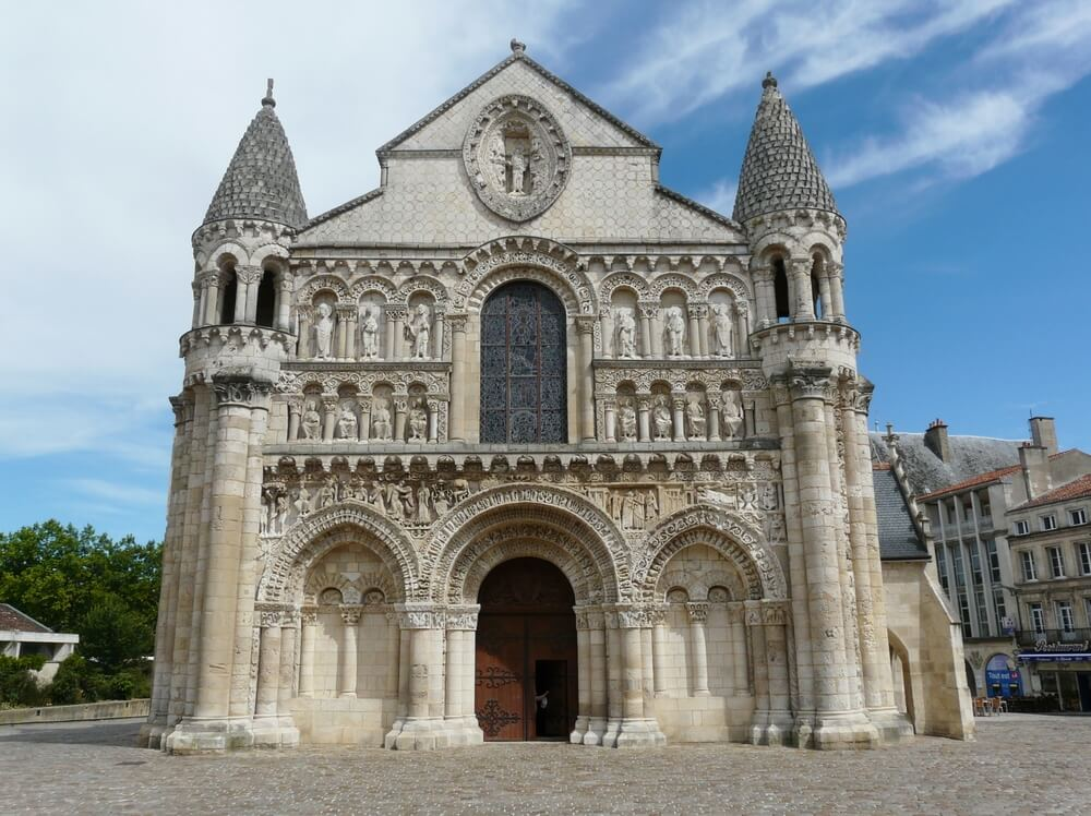 Notre Dame la Grande en Poitiers
