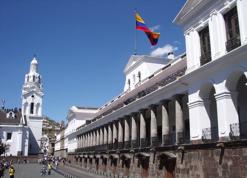 Palacio de Carondelt en el centro histórico de Quito