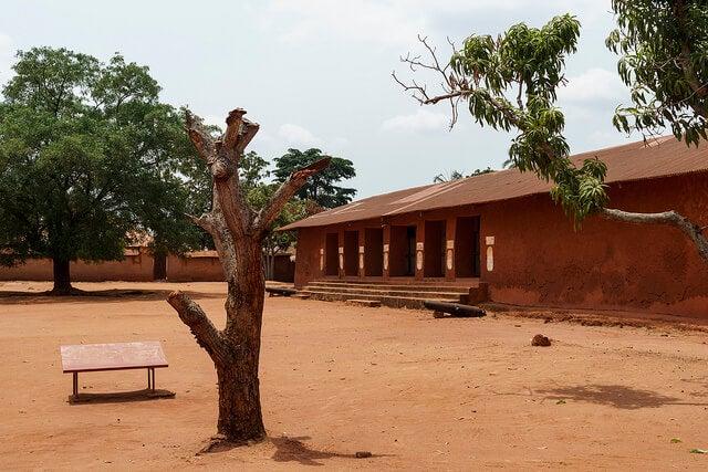Placio del rey de Glelel en Benin