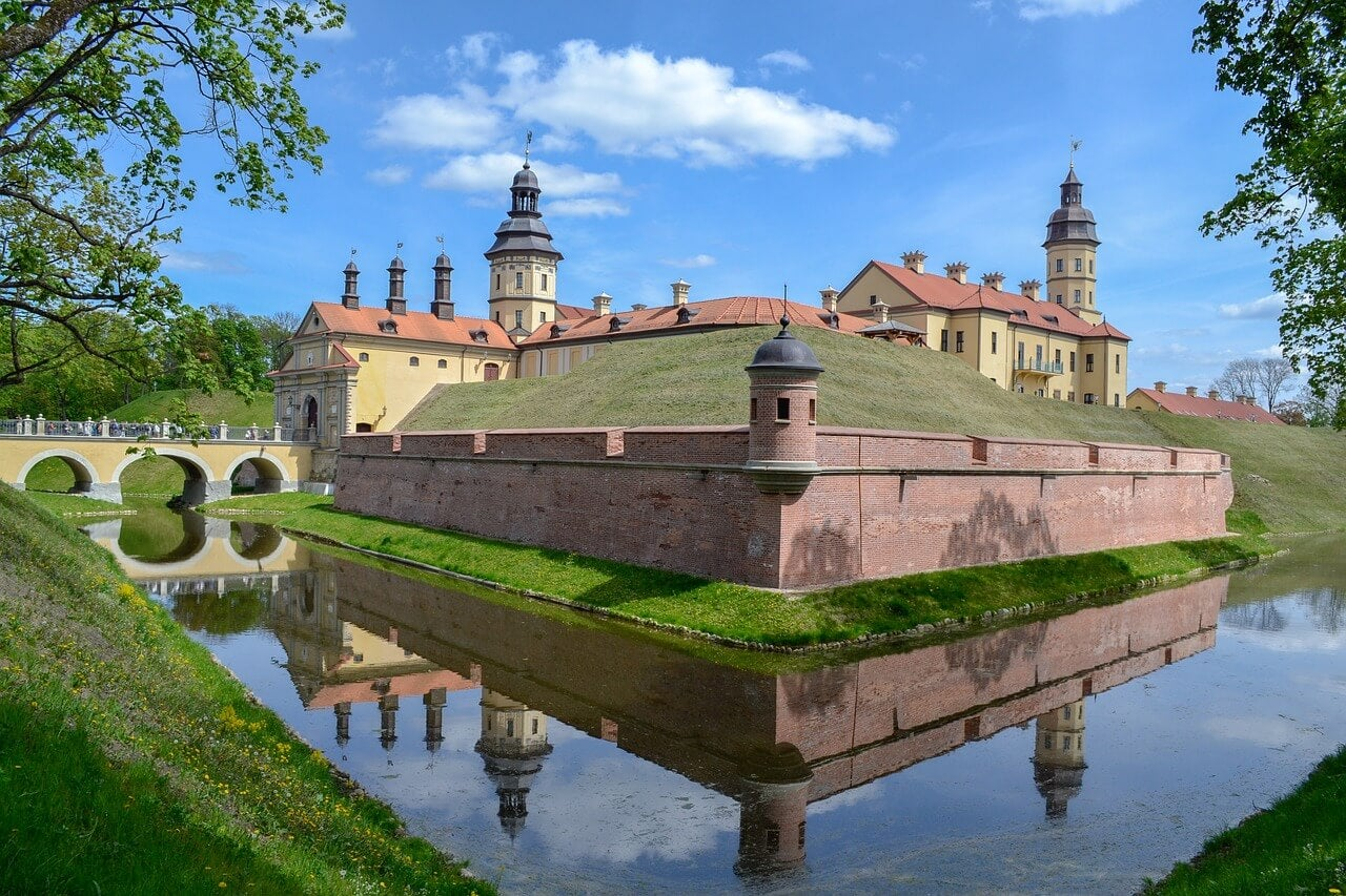 Palacio de Nesvizh en Bielorrusia