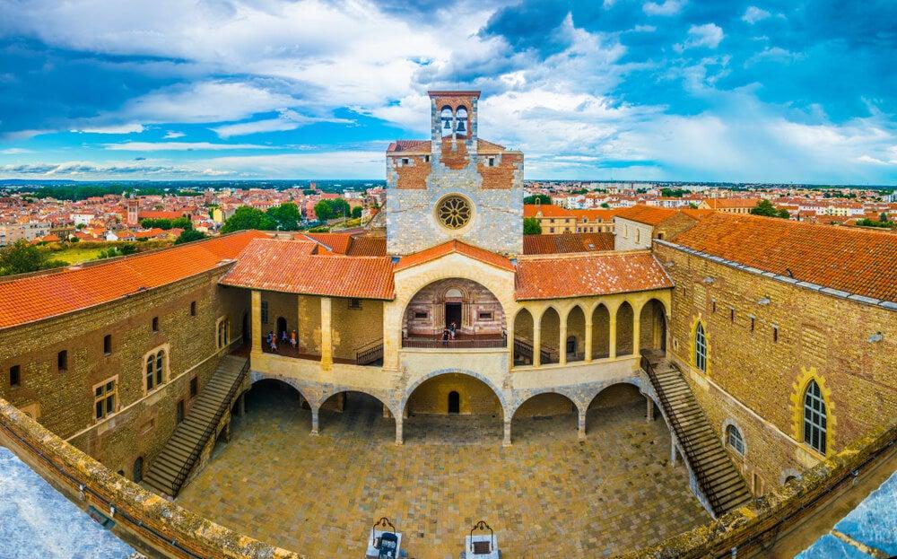 Palacio de los Reyes de Mallorca en Perpinñán