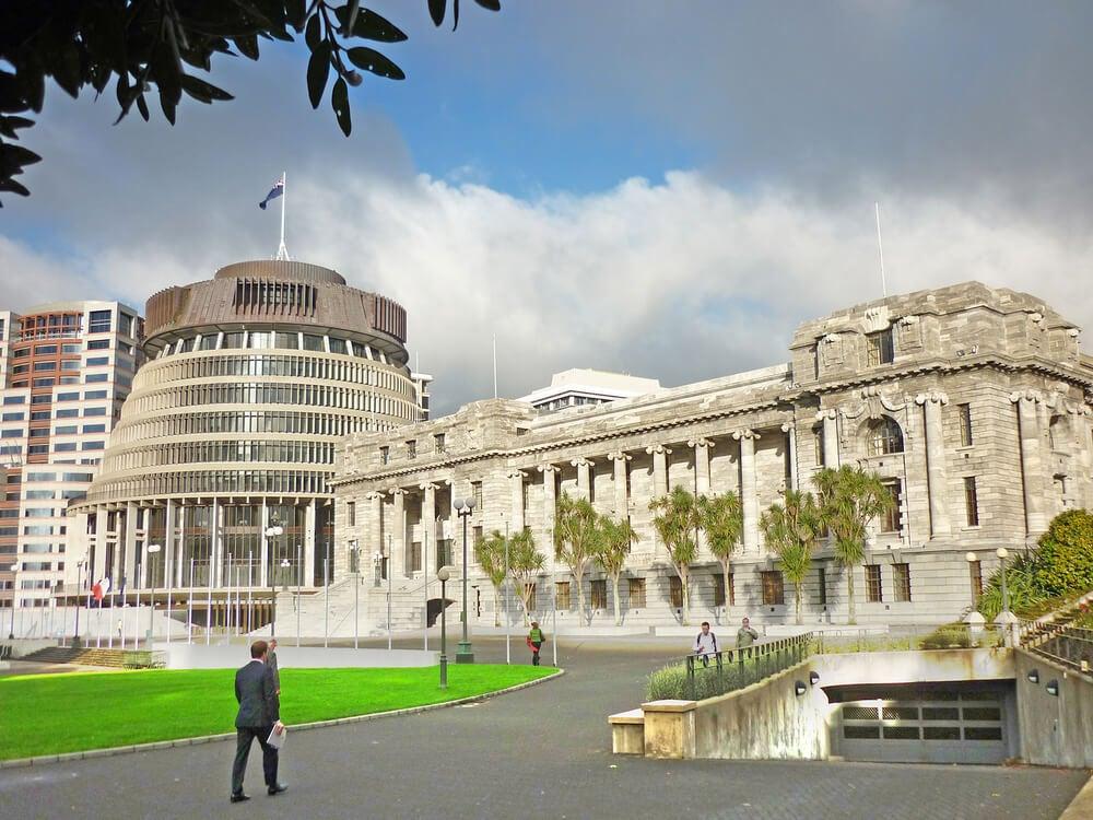 Edificios del Parlamento en Wellington