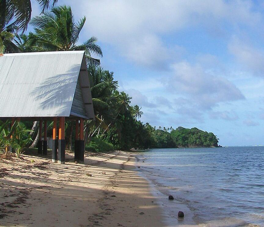 Playa en Babeldaob
