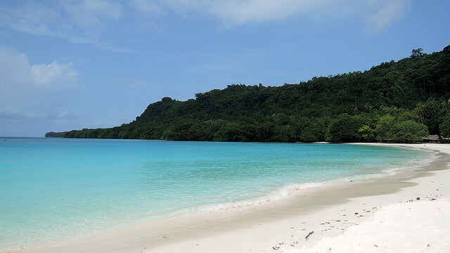 Playa Champagne en Vanuatu