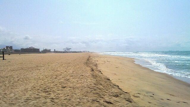 Playa de Cotonou en Benin