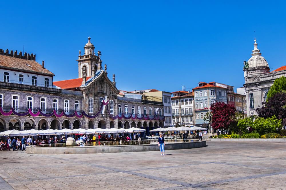 Plaza de la República de Braga