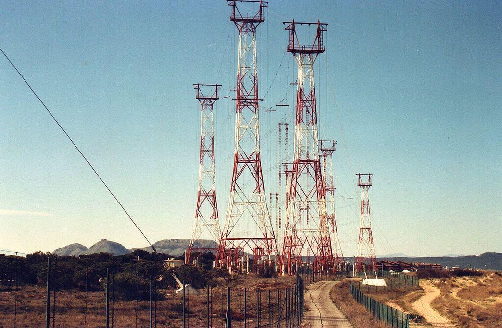 Antigua estación de Radio Liberty en Pals