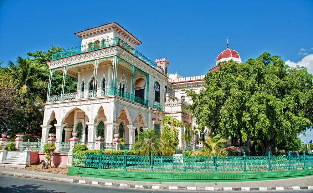 Residencia colonial en Cienfuegos en Cuba