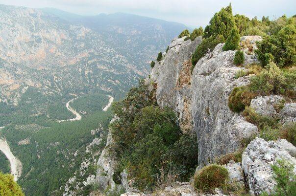 Río Monleón en Culla