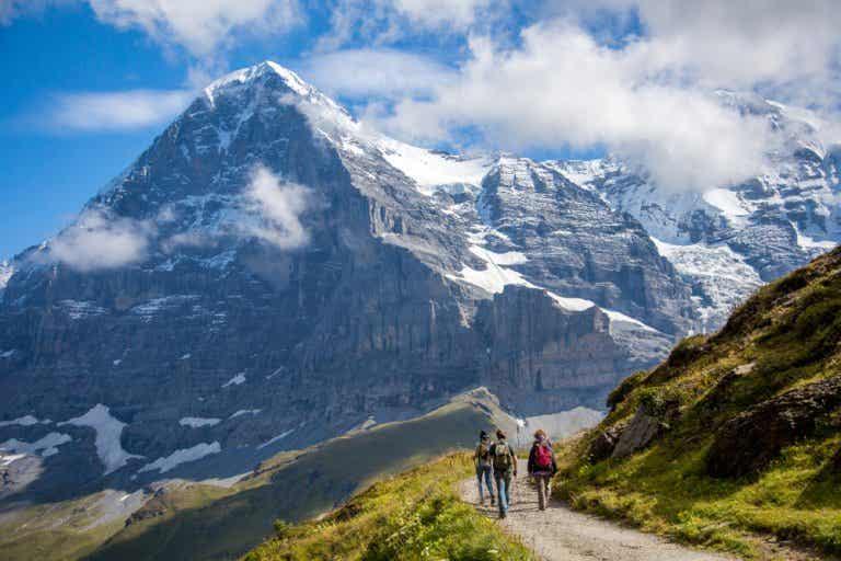 El sendero del Eiger, disfruta de una maravillosa ruta alpina