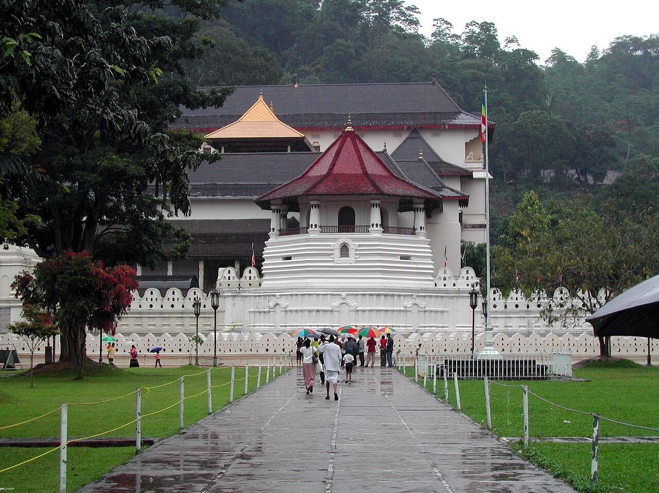 Templo del diente en Sri Lanka