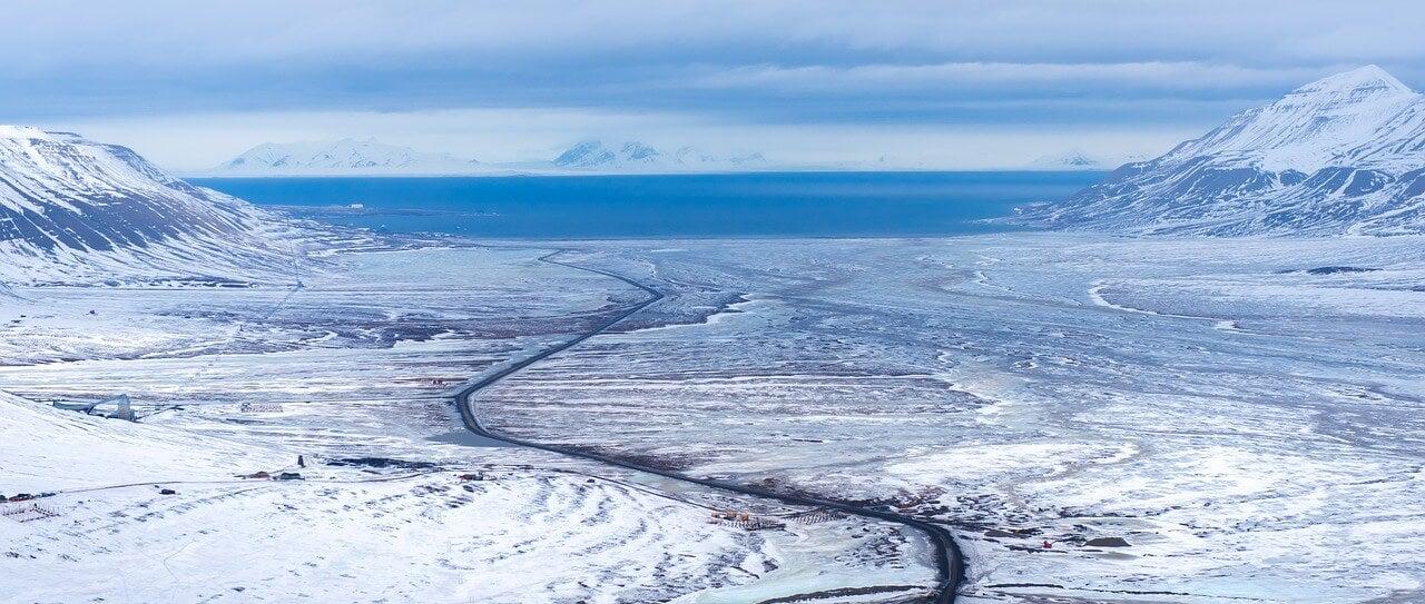 Paisaje de Svalbard