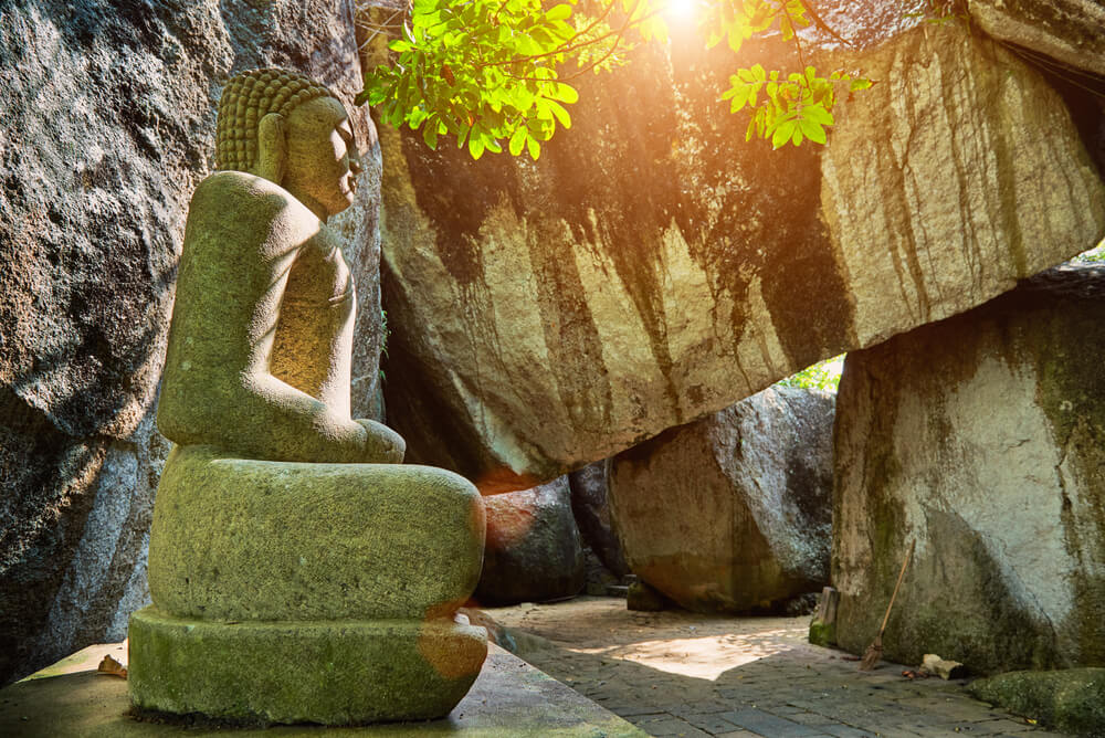 Yatagala Raja Maha Viharaya, un singular templo en Sri Lanka
