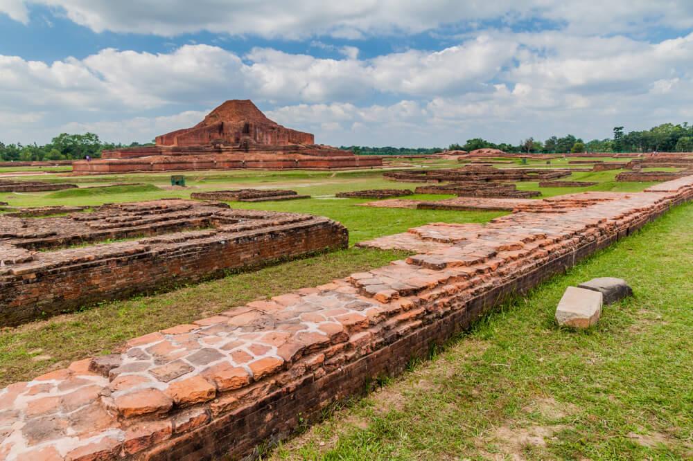 Visitamos las ruinas del vihara budista en Paharpur