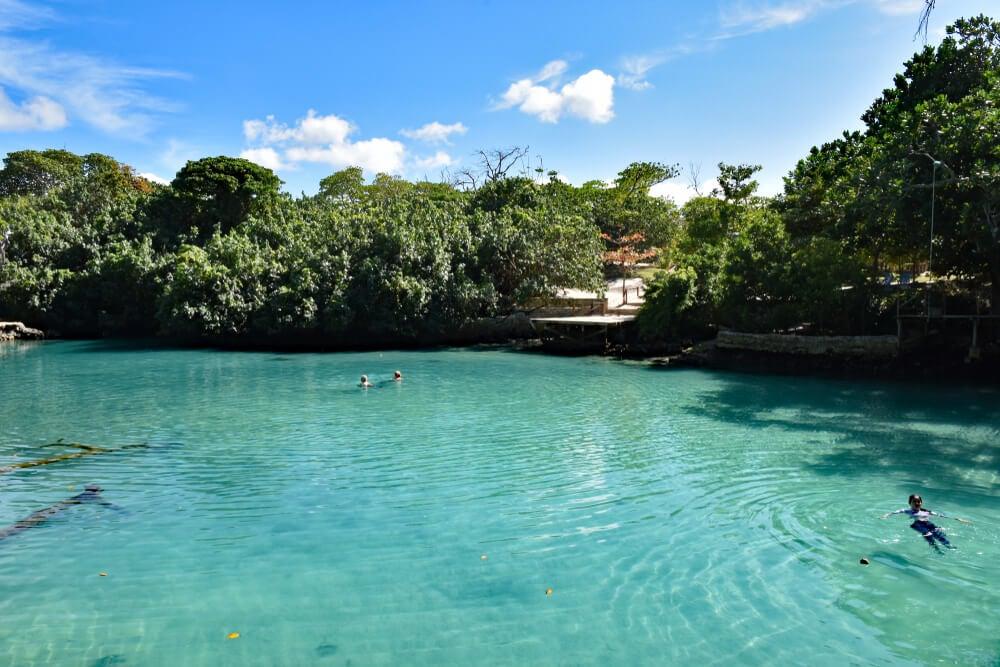 Vista de Blue Lagoon