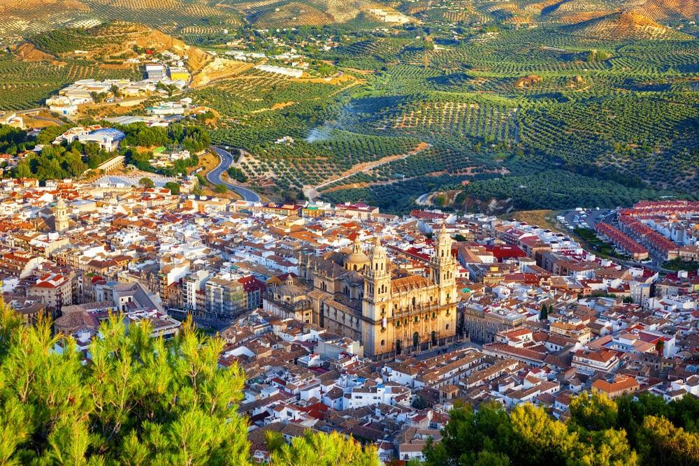 Vista de Jaén