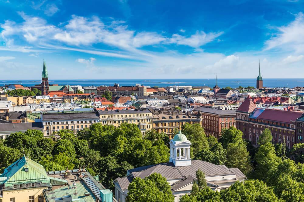 Vista de Helsinki