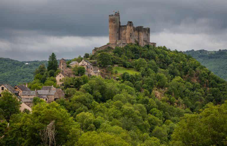 Najac, uno de los pueblos más bonitos del sur de Francia