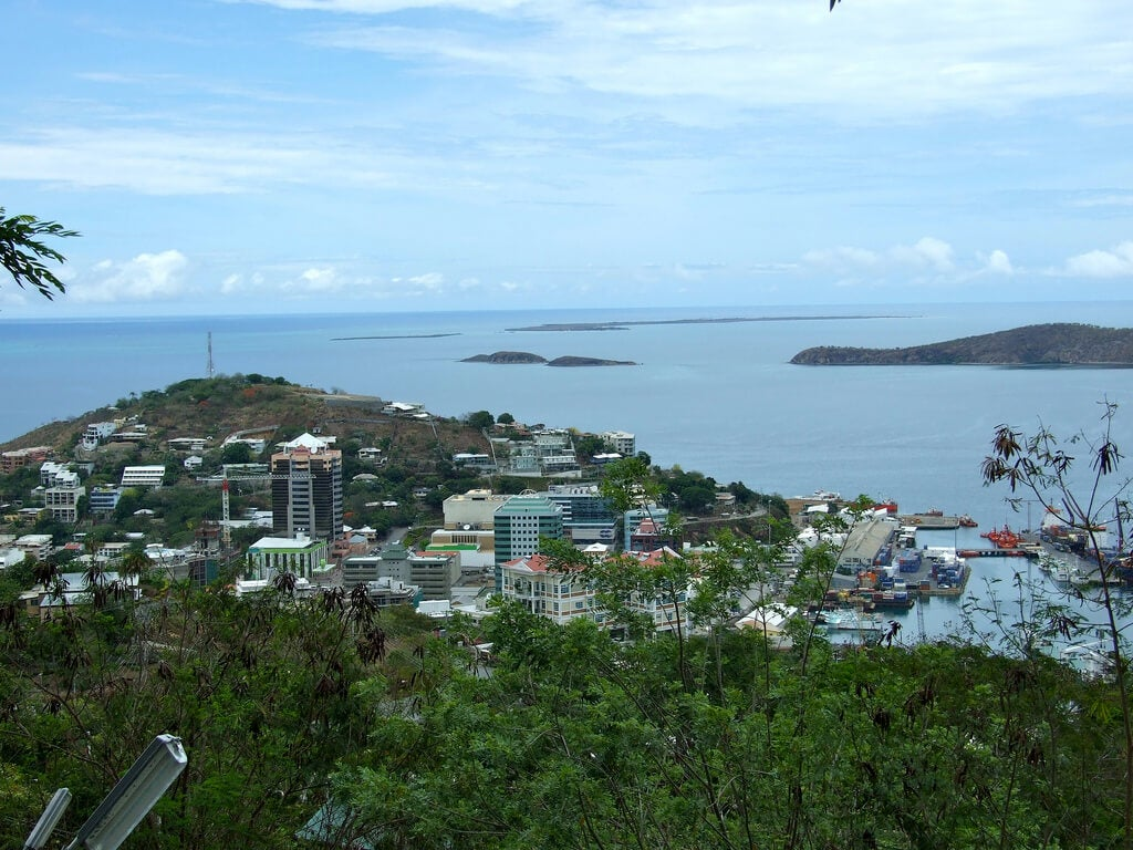 Vista de Port Moresby