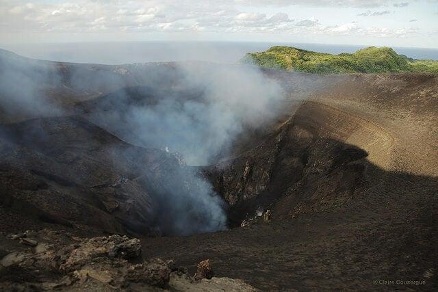 Volcán Yasur en Vanuatu