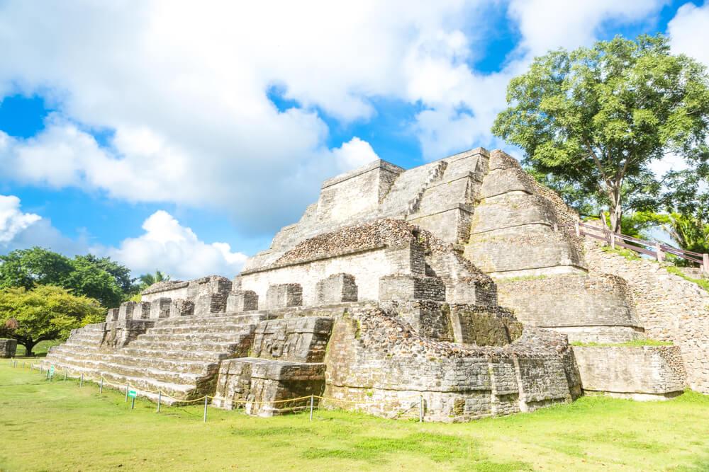 Pirámide de Altún Ha en Belice