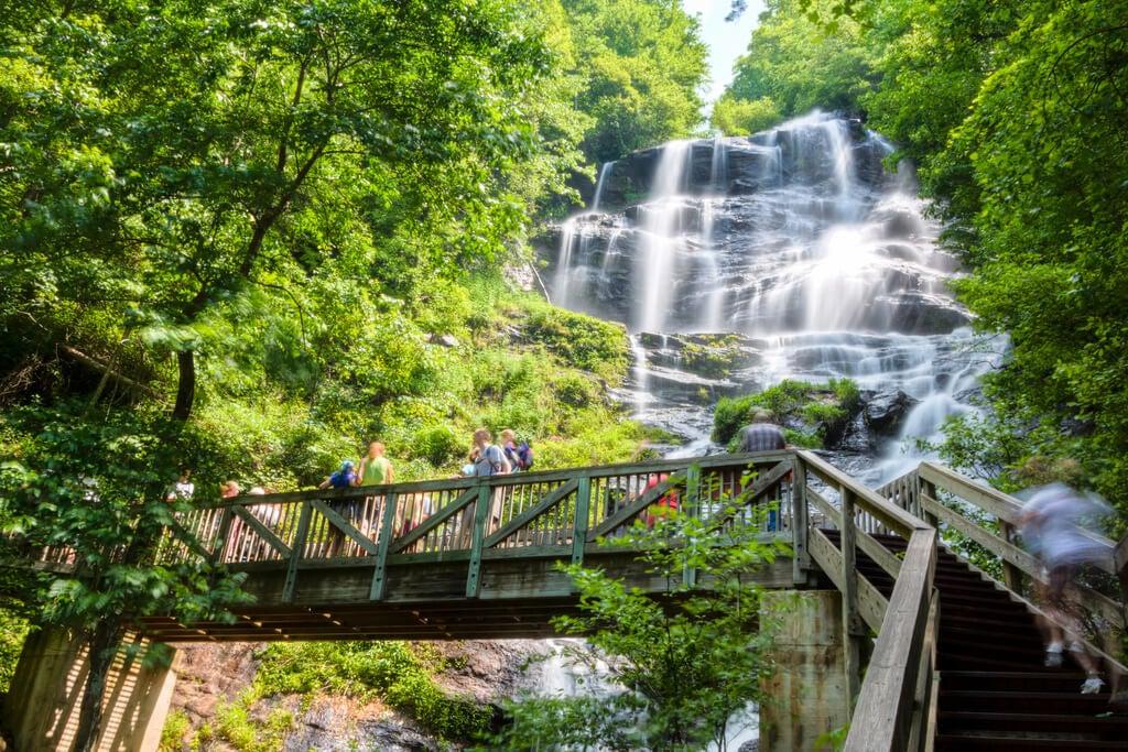 Amicaloa Falls en Georgia