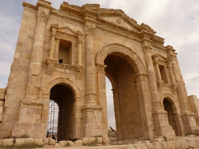 Arco de Adriano en Jerash