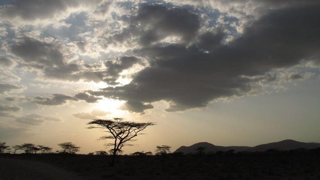 Atardecer en Samburu