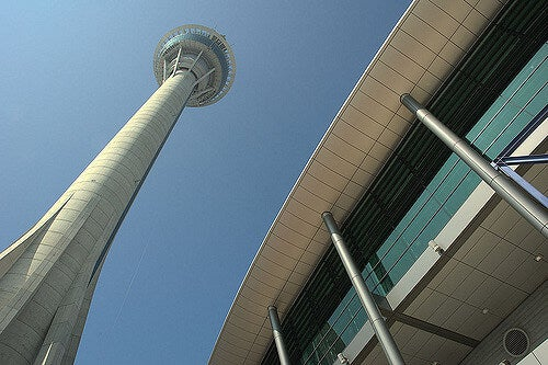Torre de Macao desde la base