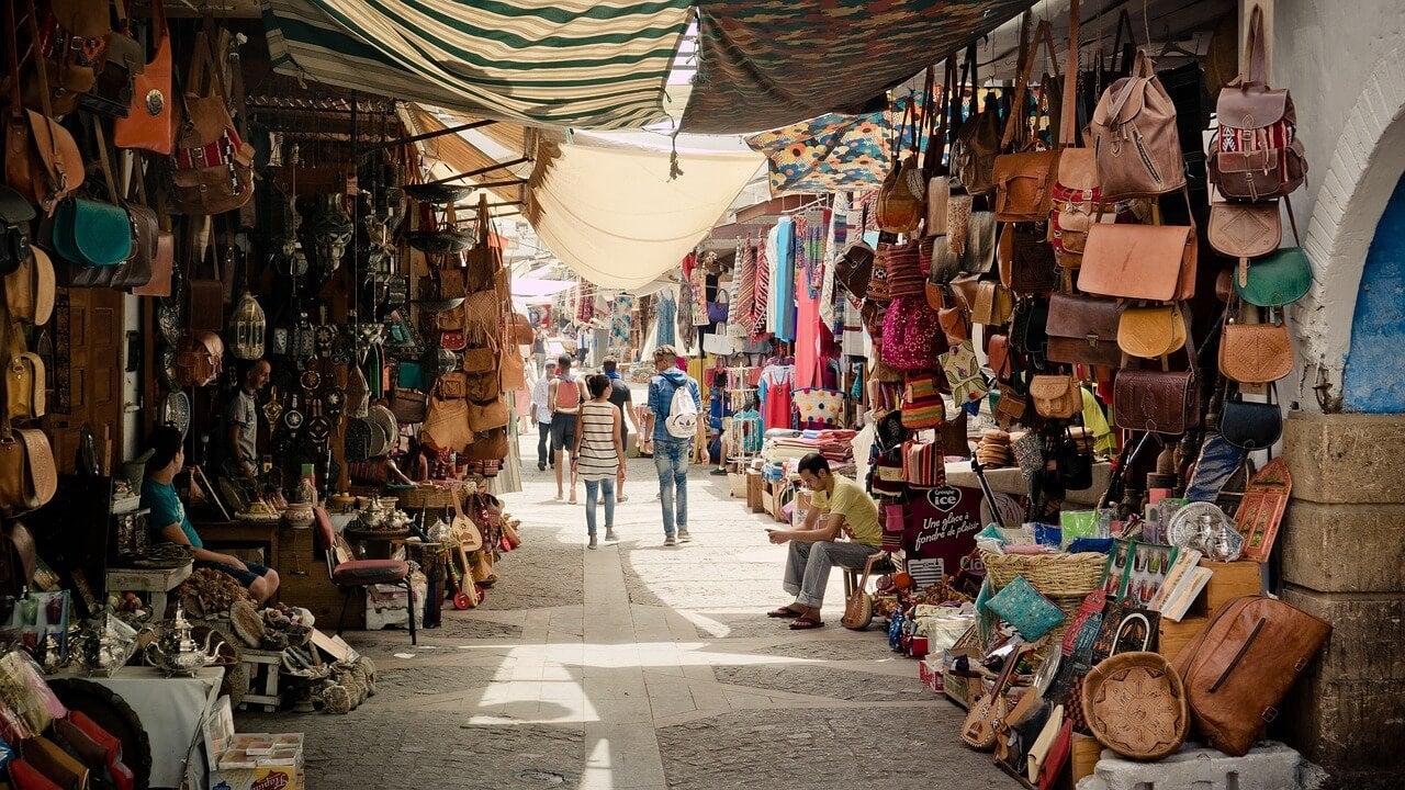 Bazar árabe, uno de los lugares donde regatear