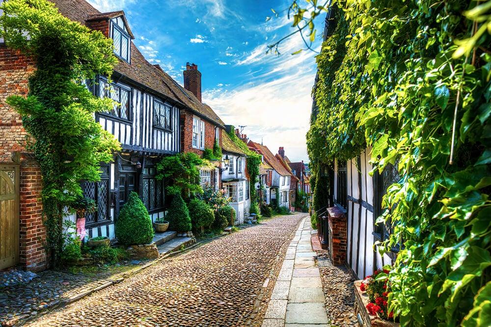 Calle de Rye con cottage