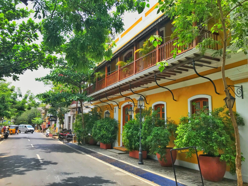 Calle de Pondicherry